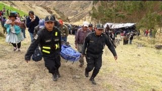 At least 19 die as Peru bus plunges off mountain road