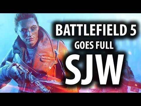 Battlefield 5's Controversial Trailer Goes Full SJW