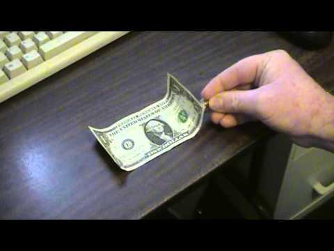 Magnetic Ink In 1 Dollar Bill