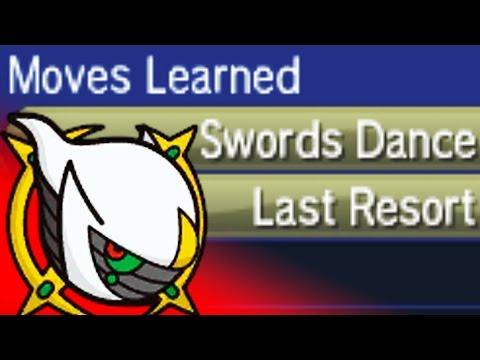 SWORDS DANCE LAST RESORT ARCEUS