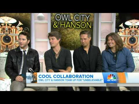 Owl City & Hanson Interview on TODAY Show_July 14, 2015