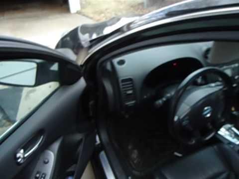 Nissan Altima Headliner Leaking Repair Video Sunroof Drain Tubes Youtube