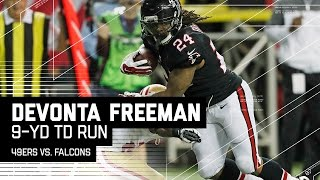 Falcons Offense on Fire After Freeman Goes in