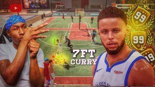 7ft 99 overall Stephen Curry is UNFAIR on NBA 2K19! Best Jumpshot on 2K19! Best Build NBA 2K19!