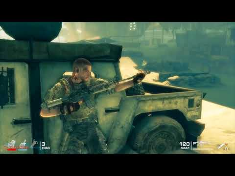 AZRockslide plays Spec Ops: The Line Part 2 - White Phosphorus and The Bridge