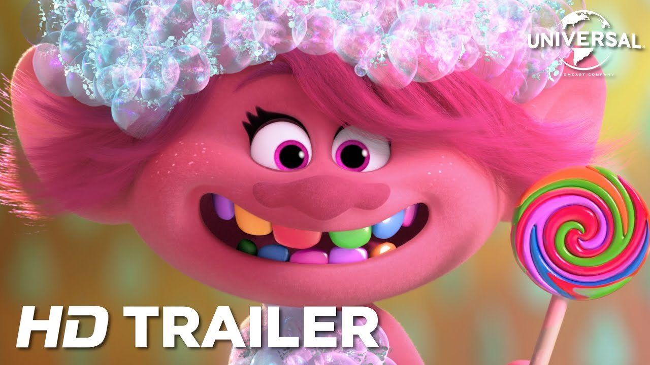 Trolls 2: Världsturnén (Eng. tal) – Officiell Trailer (Universal Pictures) HD