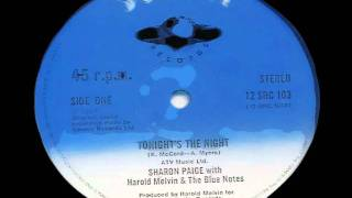 Sharon Paige - Tonight's The Night
