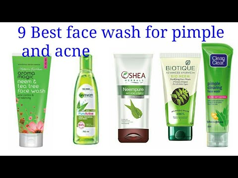 9 Best face wash for pimple and acne