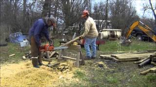 Makeing Fence Posts Out Of Landscape Timbers