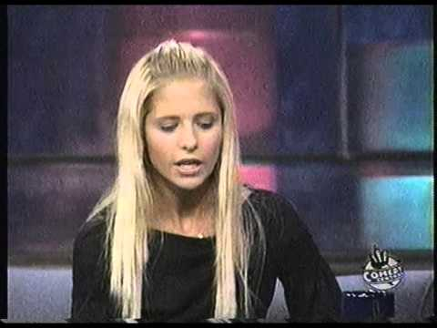 Sarah Michelle Gellar Interview Daily Show with John Stewart October 27 1999