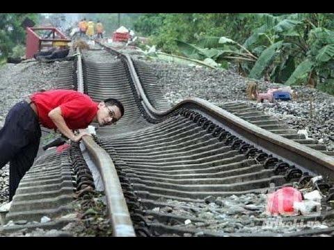 аварии жд. аварии поезда и авто ...авто жд аварии