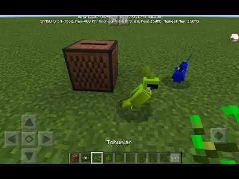 Minecraftta Dans Eden Kuş Yapımı Modsuz Eklentisiz