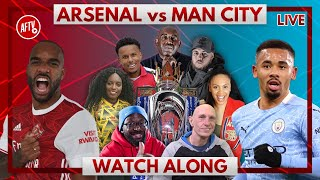 Arsenal vs Man City | Watch Along Live