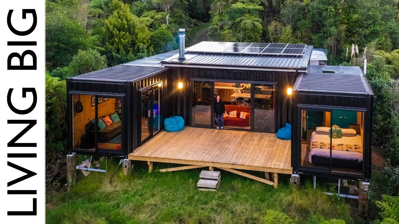 Download Off-Grid Living in a 5x 20ft Shipping Container Home