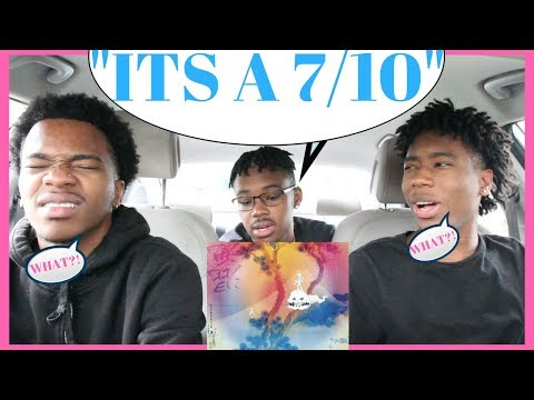 7/10? Kanye West & Kid Cudi - KIDS SEE GHOSTS FIRST REACTION/REVIEW