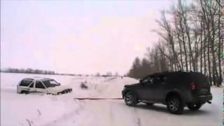 Nissan Terrano  Mitsubishi Montero Sport   Mitsubishi Pajero Зима