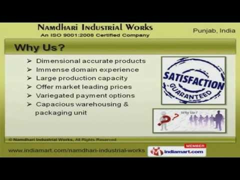 Machinery & Spare Parts by Namdhari Industrial Works, Khanna