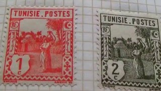 Rare Tunisie Postage Stamps