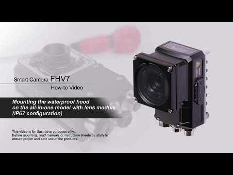 FHV7 How-to Video : Mounting the waterproof hood with lens module