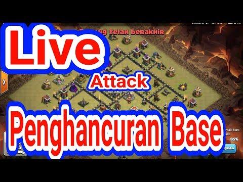Akhirnya Jebol Juga Base ini. Live WITCH Gagal Valkyrei Bisa Buktikan. Serangan WAR TH 9