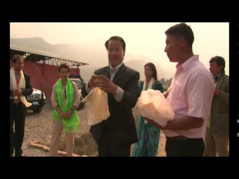 Christiana Figueres, UN Climate Change Executive Secretary to Nepal