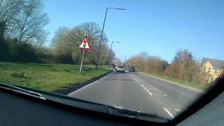Dashcam Driving From Pill To Portishead, Somerset