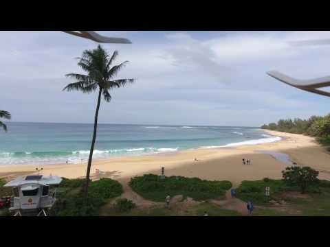 Haena Beach, Haena, HI - Drone