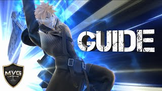 Cloud In Depth Moveset  and Combo Competitive Guide (Mew2King) - Super Smash Bros. Wii U