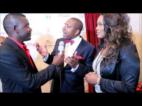 Nafca Red Carpet Hollywood 2015-Vice Consul Angola Dr Carlos Gamboa