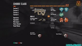 Black Ops 2: BEST CLASS SETUP - PDW (Rushing Class) - Call of Duty BO2 TDM Gameplay on Express