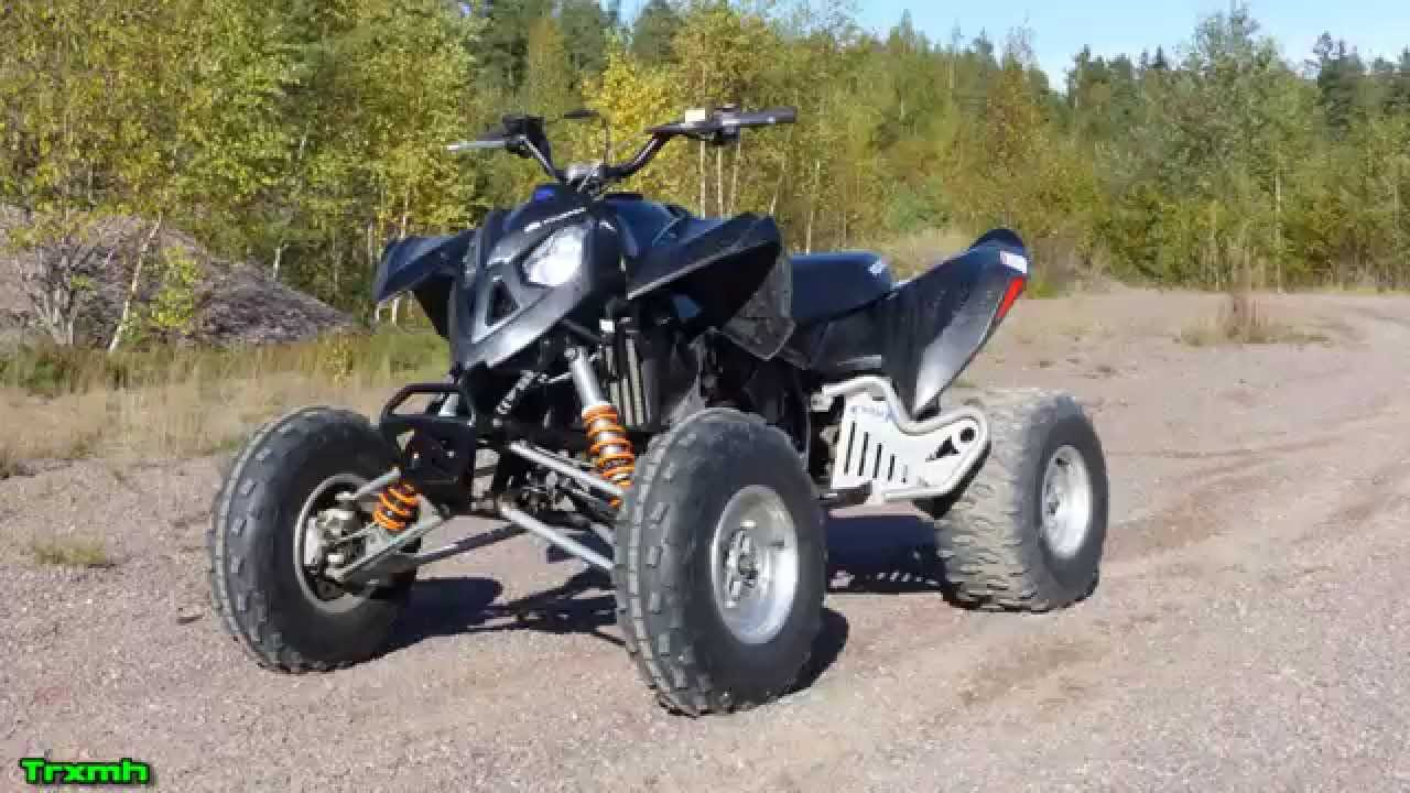 polaris outlaw 525 irs atv first test ride youtube. Black Bedroom Furniture Sets. Home Design Ideas