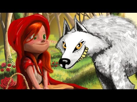 Little Red Riding Hood | Original Animation | Story Time | Cartoons for Children | Kids TV Shows