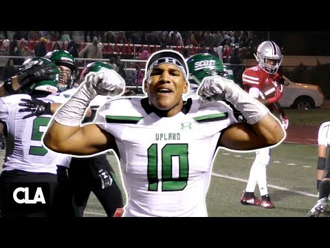 JUSTIN FLOWE DELIVERS KNOCKOUTS!!! Upland vs Rancho Verde | D2 CIFSS Championship Highlights