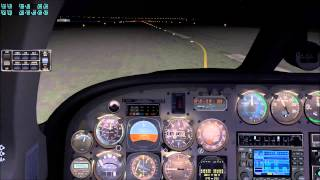 X-Plane 10 / Folge 1 / Cessna 340 / EDLP WRB 7W