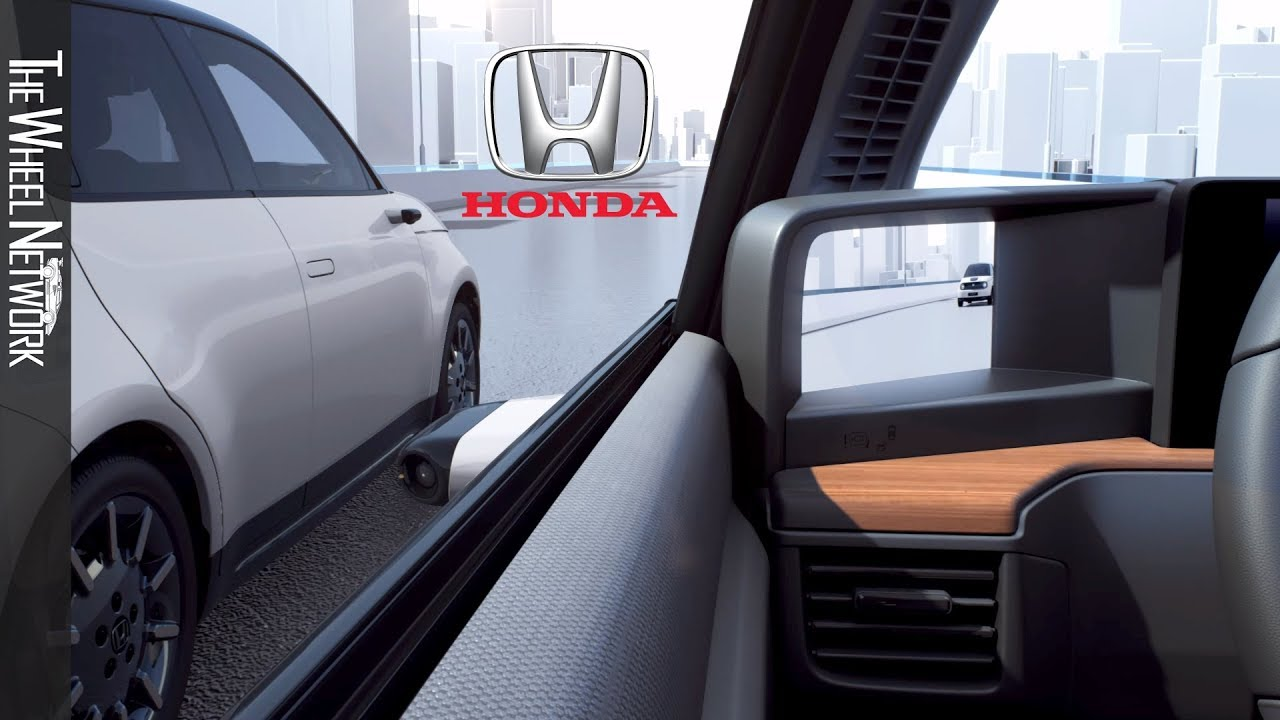 2020 Honda E Electric Car Side Camera Mirror System