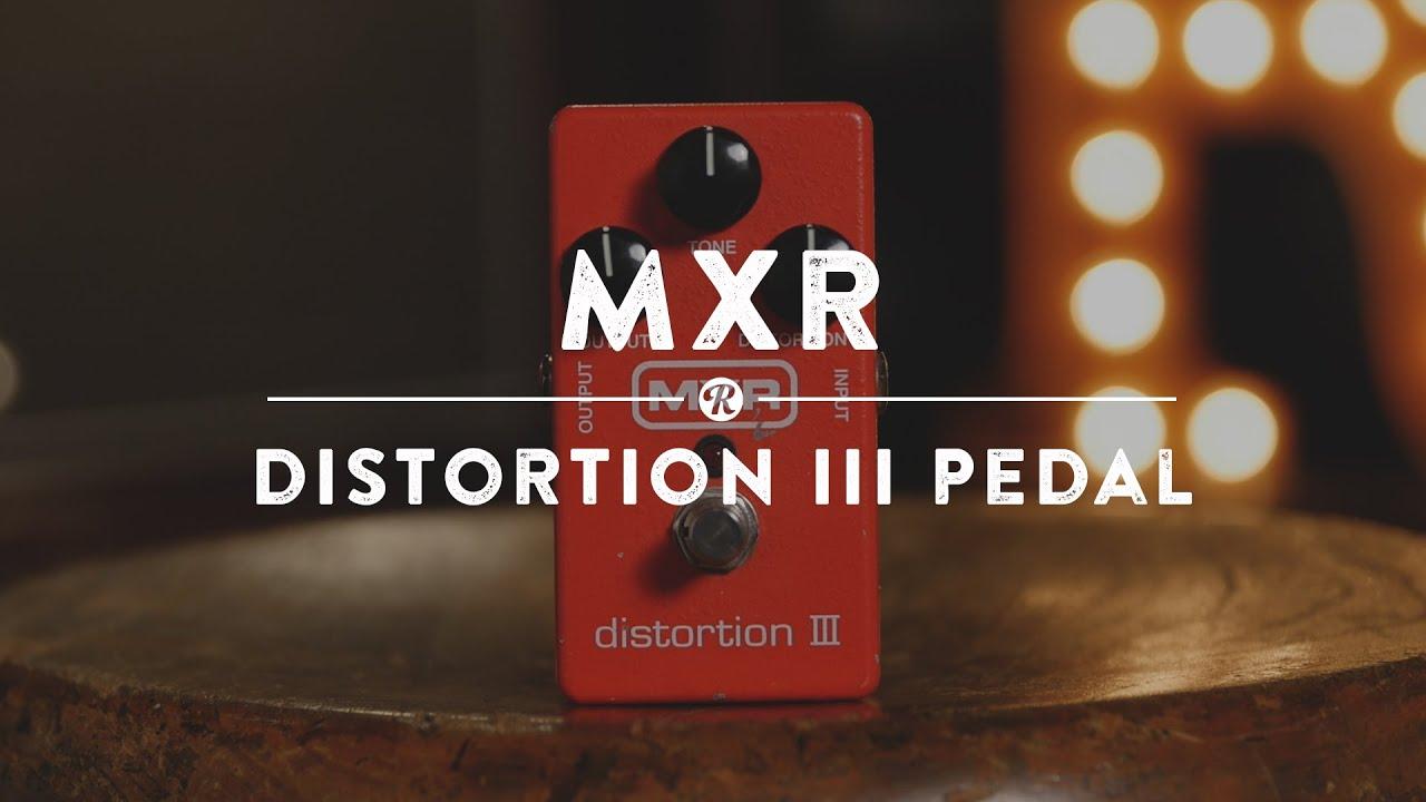 mxr distortion 3 pedal reverb demo video youtube. Black Bedroom Furniture Sets. Home Design Ideas