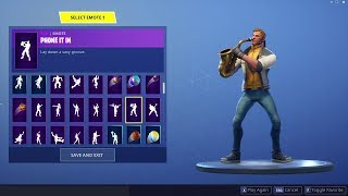 NEW FORTNITE EMOTES : PHONE IT IN, MIME TIME, SHOWSTOPPER