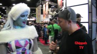 Chippah TV- Chip Chipperson at 2012 San Diego International Comic Con Pt. 1