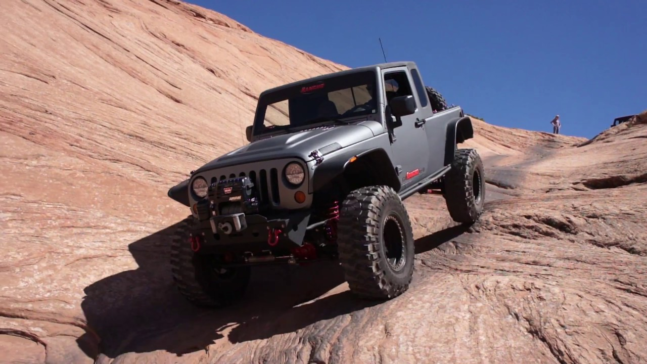 Rancho Suspension JK8 in Moab