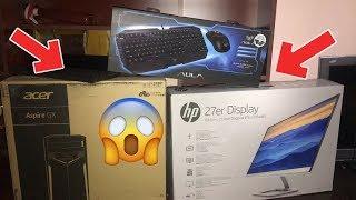 ახალი კომპიუტერის-UNBOXING_ი 😱