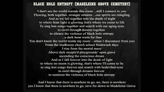 Damien Youth - Black Hole Entropy (Madeleine Grove Cemetery) demo
