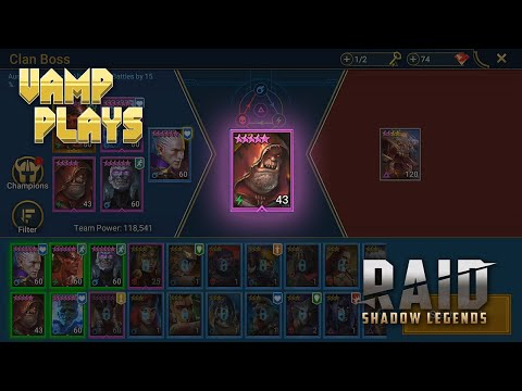 RAID: Shadow Legends | Occult Brawler Experiment | Vamp Plays