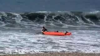 Avila Beach CA Kayak Fail