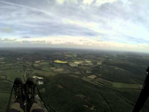Paragliding - Butser West to South Harting