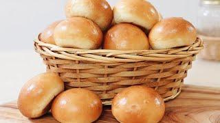 (손반죽)How to make soft and fluffy dinner roll/모닝빵 만들기
