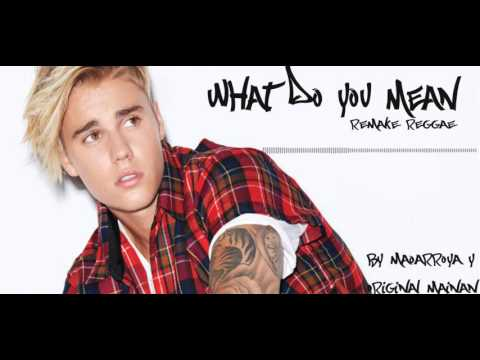 JustinBieber-What do you mean   Reggae   Cover