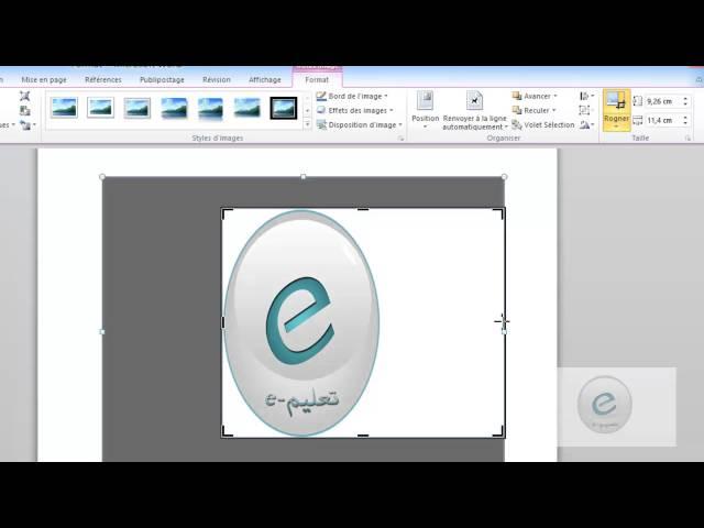 31 MS Word : Onglet Format : Organiser et Roner