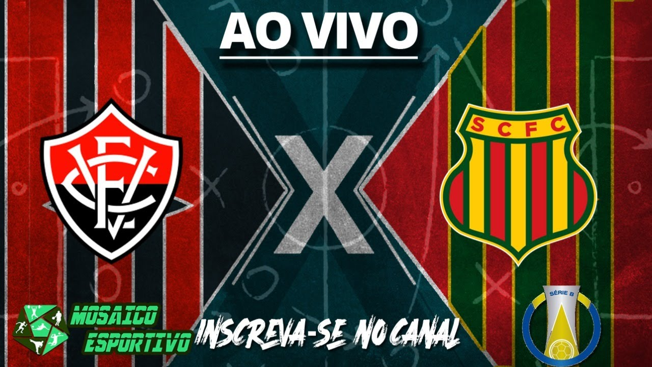 VITÓRIA X SAMPAIO CORRÊA TRANSMISSÃO AO VIVO BRASILEIRÃO SÉRIE B 2021