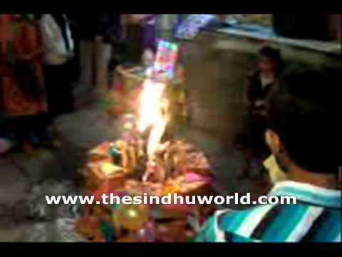 Sindhi Festival: Video of  Lal Loi Celebration: Hindu Festival: Makar Sankrant