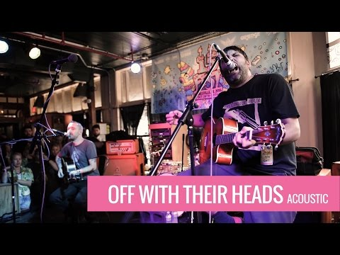 Off With Their Heads (acoustic) & Wedding @ The Fest 15